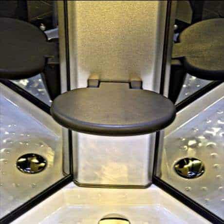 Sensual Spas Flip Down Seat