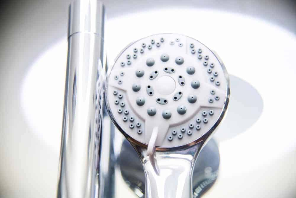Hydro Plus White Shower Head