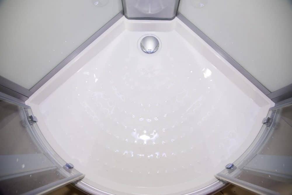 Hydro Plus White shower floor