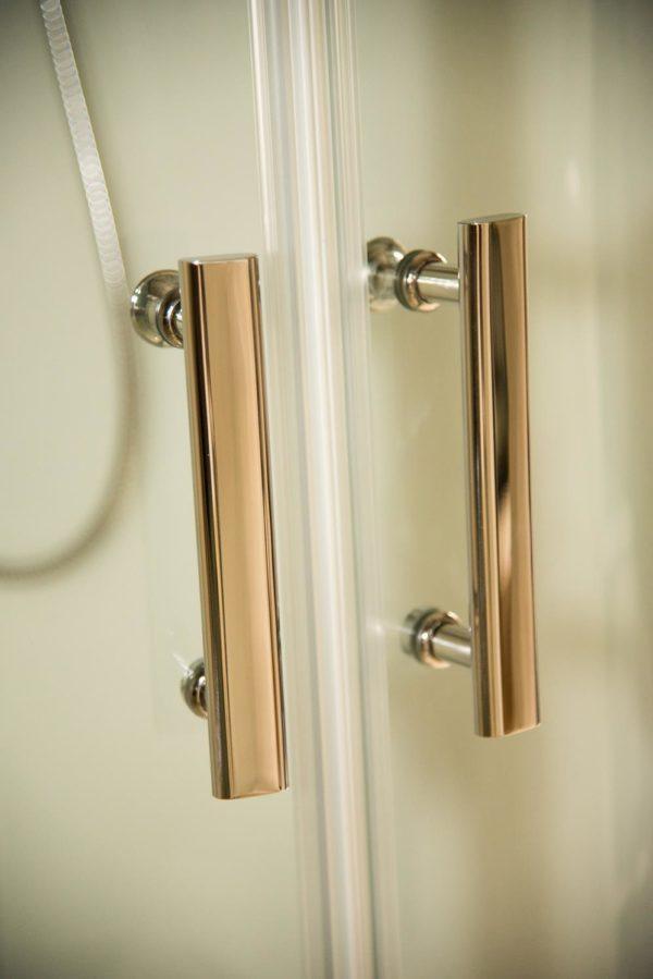 Pure left door handles