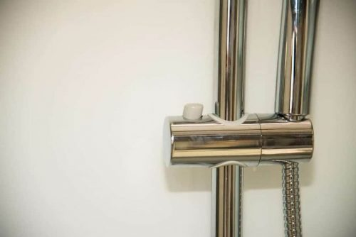 Pure right shower rail