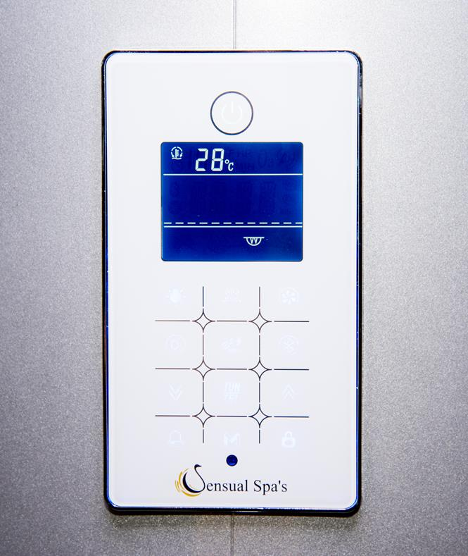 Serenity White Control Panel