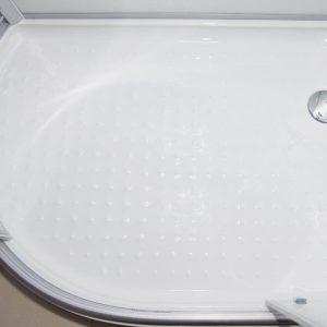 Hydro Plus Right White Shower floor