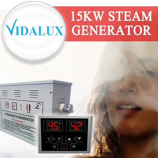 15kw Steam Room Generator - Vidalux