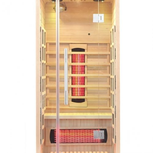 1 Person Full Spectrum Infrared Sauna With Complete Heat