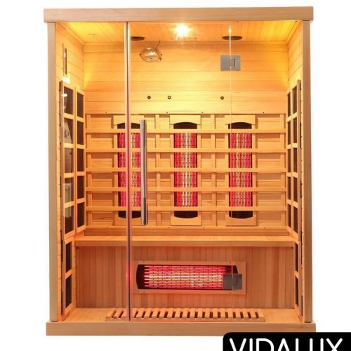 3 person sauna vidalux