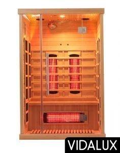 2 person vidalux sauna