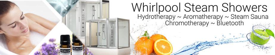 whirlpool steam shower